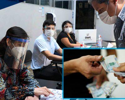 ONPE: Si usted fue miembro de mesa deberá registrarse para cobrar compensación