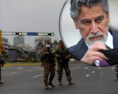 """Presidente Sagasti: """"Un confinamiento no es posible por razones económicas y epidemiológicas"""""""