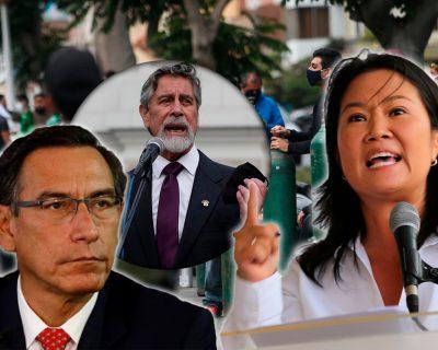 """Keiko Fujimori: """"A Sagasti y a Vizcarra les falta pantalones"""""""