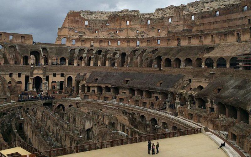 Coliseo de Roma recobrará su arena como la época de los emperadores