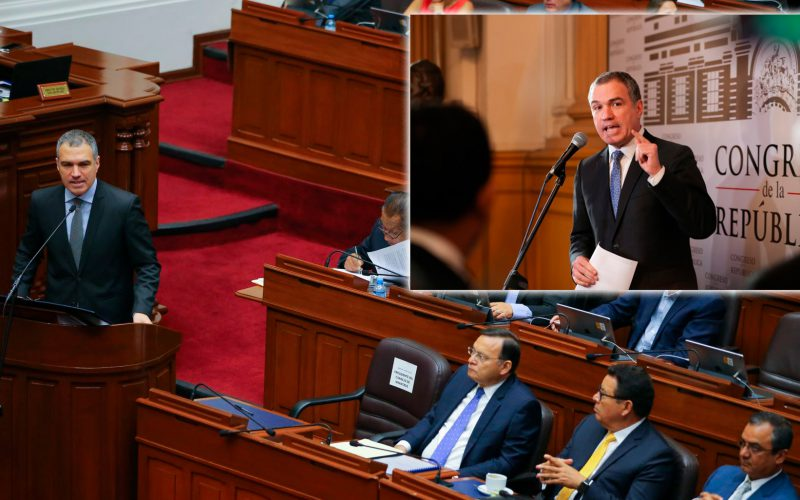 Hoy en el pleno del Congreso se verá reformas como cuestión de confianza y bicameralidad