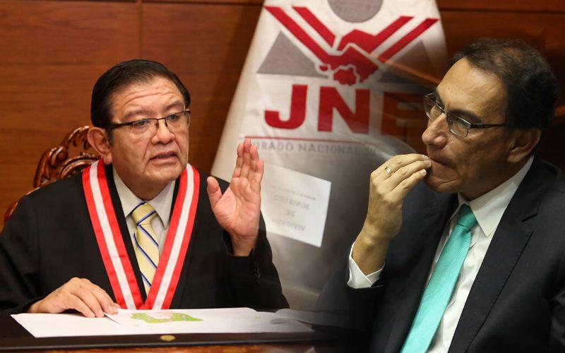JNE confirmó que Martín Vizcarra no recibirá hoy la acreditación de congresista